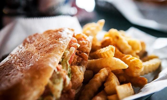 Po' Boys Creole Café - Chapel Ridge: New Orleans–Style Cuisine at Po' Boys Creole Café (45% Off). Two Options Available.