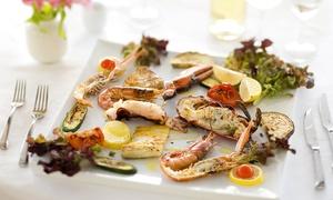 Ristorante Un Posto al Sole: Menu di pesce con bottiglia di vino al ristorante Un Posto al Sole (sconto del 72%)