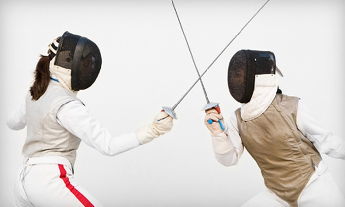 Heartland Fencing Academy - Fox Hill Commercial Center: Intro to Fencing Class or Kids' Summer Fencing Camp at Heartland Fencing Academy in Overland Park (Up to 62% Off)