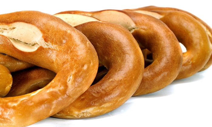 Philly Pretzel Factory - Berkeley: Three, Five, or Nine Groupons, Each Good for 25 Real Pretzels at Philly Pretzel Factory (46% Off)