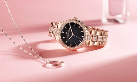 One or Two Timothy Stone Gala Women's Watches with Crystals from Swarovski® With Free Delivery