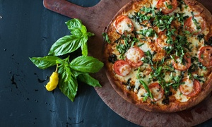 Portofino Pizza & Pasta: Italian Food at Portofino Pizza & Pasta(Up to 42% Off). Four Options Available.