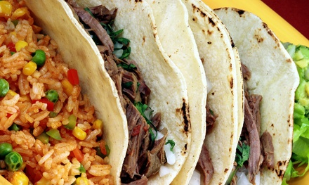 $16 for Four Groupons, Each Good for $8 Worth of Mexican Food at Taqueria Los Cabos ($32 Value)