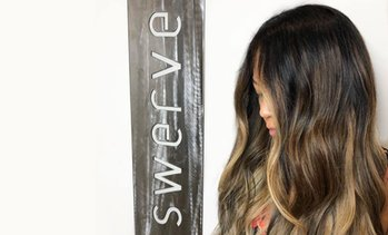 Up to 61% Off Haircare Services at Swerve Salon