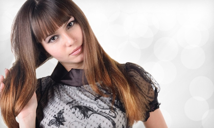 Color Specialist Tinker Diggens - Minneapolis: Haircut Package with Optional Color or Partial or Full Highlights from Color Specialist Tinker Diggens (Up to 70% Off)