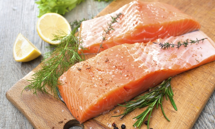 Catch of the Day! - Edmonton: Up to 43% off Fish and Seafood or a One Year Salmon Club Membership  at Catch of the Day!