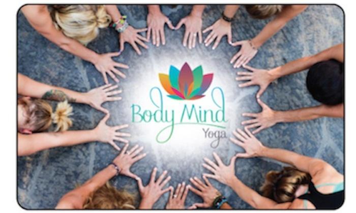 Body Mind Yoga - Edmond: Up to 50% Off Yoga  at Body Mind Yoga