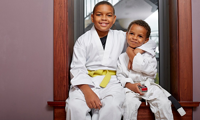 Wichita Airstrike Martial Arts - Wichita: Kids' Martial-Arts Packages at Wichita Airstrike Martial Arts (Up to 79% Off). Three Options Available.