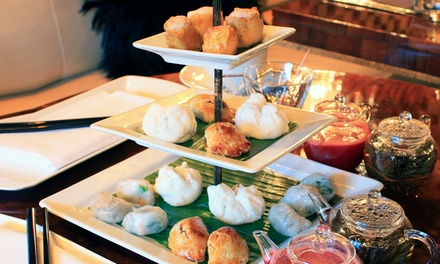 Dim Sum Tea Party with a Cocktail at The Crazy Bear £19.75 (50% off)