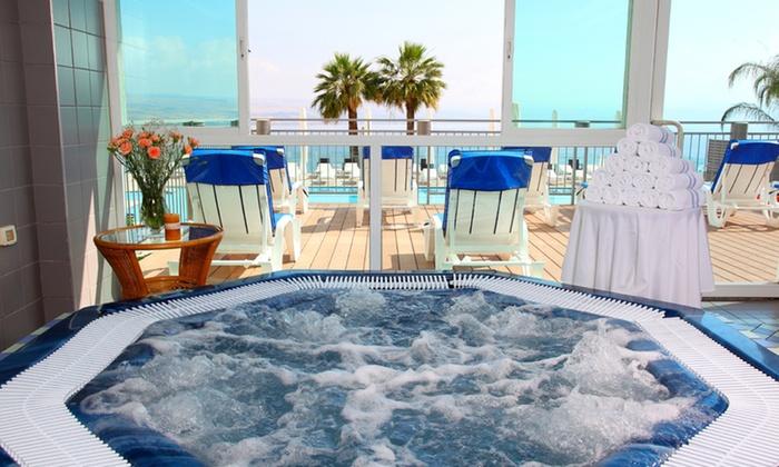 """מלון גולן: חופשה בטבריה, כולל סופ""""ש: לילה במלון גולן מול נופי הכנרת, כולל ארוחת בוקר, החל מ-449 ₪ בלבד לזוג!"""