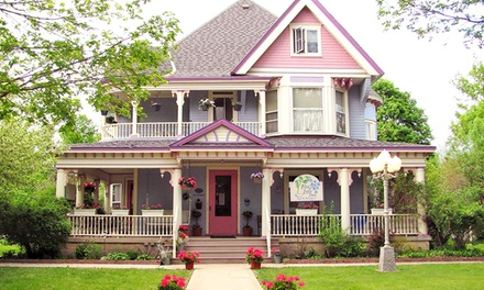 2-Night Stay for Two with Souvenir Gift Option at The Blue Belle Inn B&B and Tea House in St Ansgar, IA.