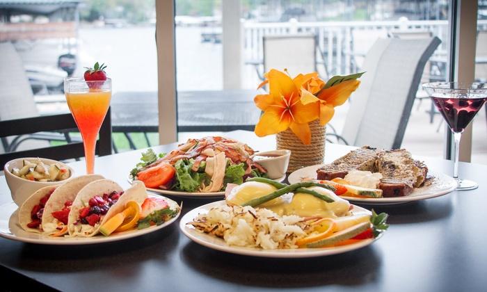 Ozark Yacht Club - Lake Ozark: $12 for $20 Worth of Casual American Food at LakeSide Café orWine Galley atOzark Yacht Club