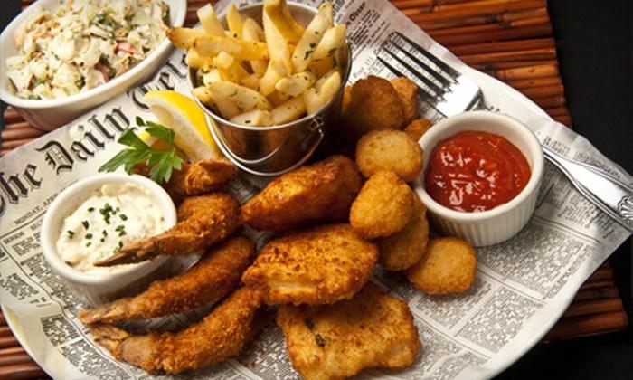 Seafood Shack - Las Vegas, NV: Seafood Dinner at Seafood Shack (Half Off). Two Options Available.