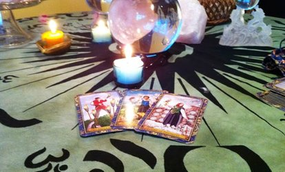 $39 for Palm and Tarot Readings at Sophia's Chakra Shop