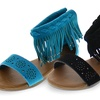 Shoes of Soul Tasseled Girls' Sandals