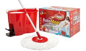 RotoMop Superfive con secchio