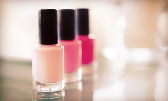 Creative Nails Too - Algonquin: $59 for Two No-Chip Manicures and Regular Pedicures at Creative Nails Too ($120 Value)