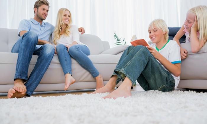 Core Facility Solutions - Dallas: Five-Room Carpet Steam Cleaning from CORE FACILITY SOLUTIONS (78% Off)