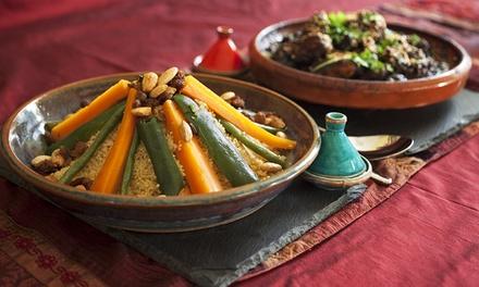 Menú degustación árabe para 2 o 4 con 6 platos a compartir, postre y bebida desde 29,95 € en Restaurante Al-Aman II