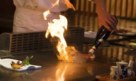 Menu en 6 services pour 2 ou 4 personnes dès 49 € au restaurant Sakura   Courtrai