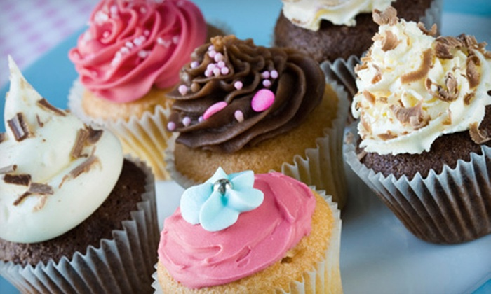 Halo Cupcake - Rockford: $12 for One Dozen Cupcakes from Halo Cupcake ($25 Value)