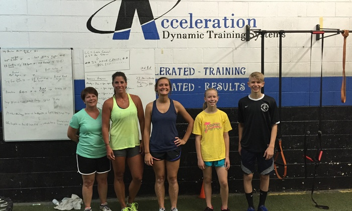 Acceleration Dynamic Training Systems - Burlington: Four Weeks of Unlimited Boot-Camp Classes at Acceleration-DTS (65% Off)