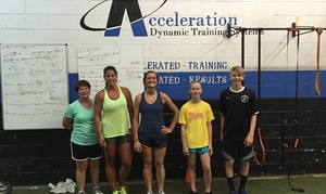 Acceleration Dynamic Training Systems: Four Weeks of Unlimited Boot-Camp Classes at Acceleration-DTS (65% Off)