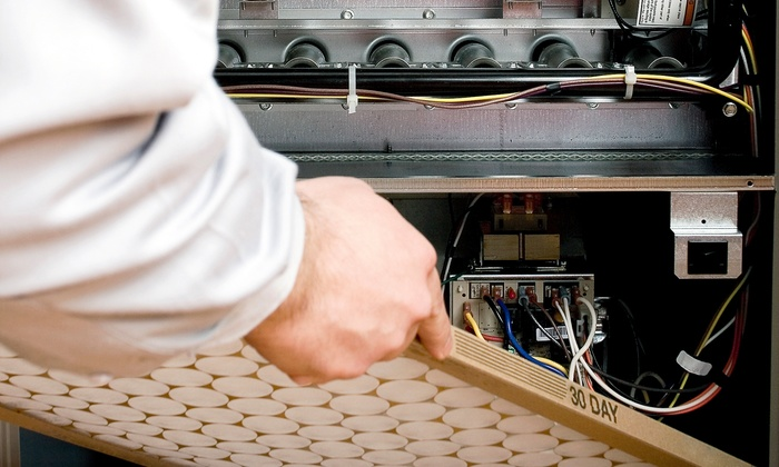 Green Restoration - Hartford: $49 for an Air-Conditioner or Furnace Cleaning from Green Restoration ($249 Value)
