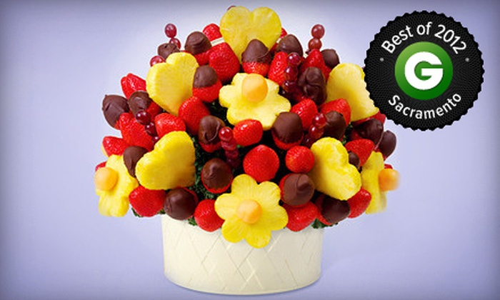 Edible Arrangements - Multiple Locations: One Box of Chocolate-Dipped Fruit or $20 for $40 Worth of Fruit Bouquets from Edible Arrangements