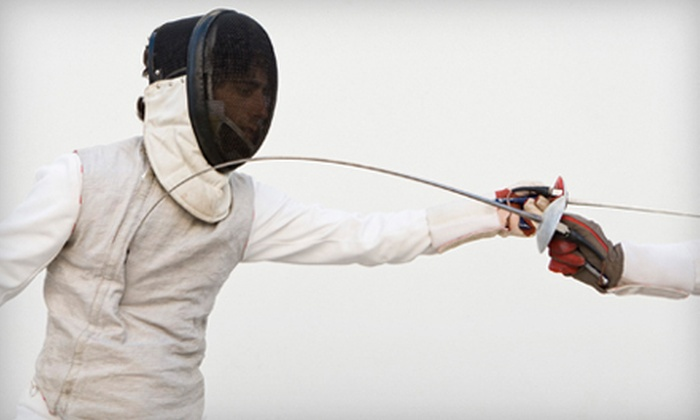 Island Fencing Academy - Plainview: Two or Four Fencing Classes for One or Two Children at Island Fencing Academy (Up to 86% Off)