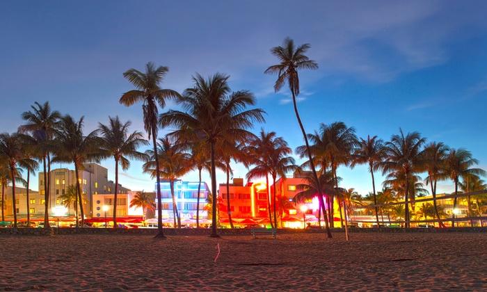 Miami Beach Joy Rides - Flamingo / Lummus: 45-Minute Miami Beach Open-Cart Tour for Two, Four, or Six from Miami Beach Joy Rides (37% Off)