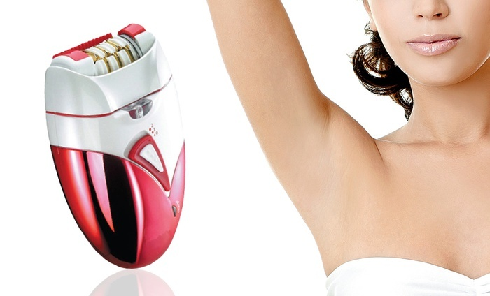 Epil-X 4-in-1 Rechargeable Gold Epilator: Epil-X 4-in-1 Rechargeable Gold Epilator. Free Returns.