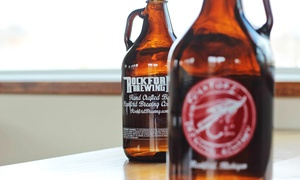 Rockford Brewing Company: 8 or 16 Craft Beer Samples or Beer Merchandise at Rockford Brewing Company (Up to 56% Off)