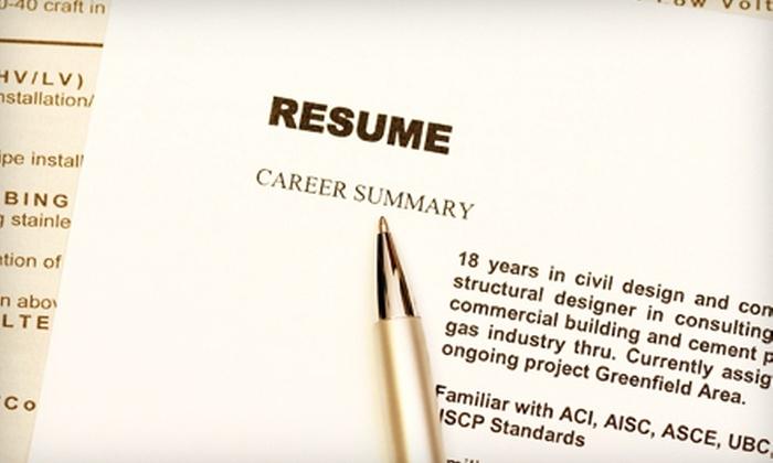 JMC Resumes, Ltd. - Saskatoon: $85 for Professional Resumé and Cover-Letter Service from JMC Resumes, Ltd. ($260 Value)