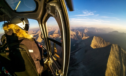 Helicopter Tour and Wilderness Stop for Two or Four from Rockies Heli Tours Canada Inc. (Up to 50% Off)