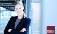 90 Min. Business-Fotoshooting inkl. Make-up, 1 Bild mit allen Rechten als Datei und Ausdruck bei STUDIOLINE PHOTOGRAPHY