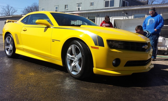 Attention 2 Detail & Graphics - Grand Rapids: A Mobile-Service Car Wash with Interior Cleaning and Tire Dressing at Attention 2 Detail & Graphics (45% Off)