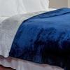 Lavish Home Flannel-Like Reversible Blankets