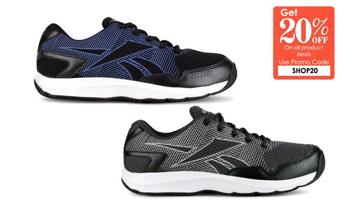 Reebok Performer Lp Black Running Shoes