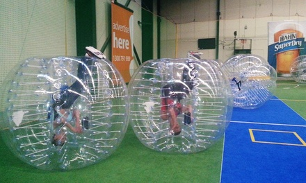 OneHour Bubble Soccer Up to Eight People $79 or Sixteen People $157 at Ultimate Indoor Sports Up to $640 Value