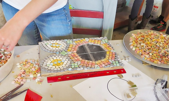 Garden Path Studio - New Pathways: BYOB Mosaic Art Class for One or Two from Kristi Duckworth at Garden Path Studio (Up to 62% Off)