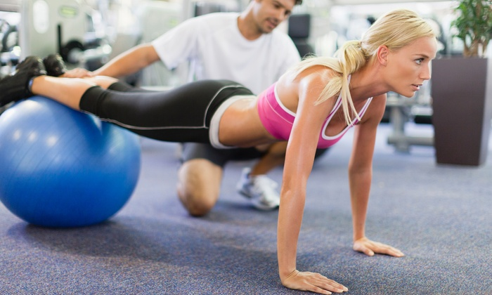 FitStudio Personal Training Studio - Overland Pointe Market Place: Two Personal Training Sessions with Diet and Weight-Loss Consultation from FitStudio Personal Training Studio (70% Off)