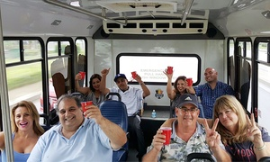 Cheers Beer Tours: Beer Crawl Ticket for One or Two from Cheers Beer Tours (Up to 51% Off)
