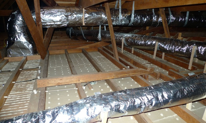Air Duct Cleaning Bpa Attic Solutions Groupon