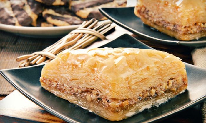 Yona's Gourmet Delights - Mapleton: $5 for $10 Worth of Gourmet Quiche, Baklava, Borekas, and Cakes at Yona's Gourmet Delights