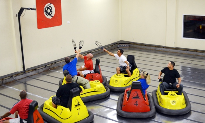 Whirlydome - Orlando: Four WhirlyBall Games with Two or Three Drinks, or a Birthday-Party Package at Whirlydome (Up to 37% Off)