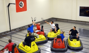Whirlydome: Four WhirlyBall Games with Two or Three Drinks, or a Birthday-Party Package at Whirlydome (Up to 44% Off)