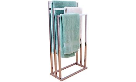 Bathroom Tiered Towel Holder
