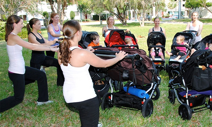 Baby Boot Camp - Cupertino, Los Altos & Mountain View - Multiple Locations: $40 for One Month of Unlimited Classes at Baby Boot Camp ($100 Value)