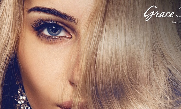 Rose at Grace Taylor Salon - Rose at Grace Taylor Salon: Up to 65% Off Haircut and Partial highlights from Rose at Grace Taylor Salon